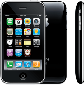 iPhone 3GS noir
